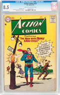 Silver Age (1956-1969):Superhero, Action Comics #227 (DC, 1957) CGC VF+ 8.5 Light tan to off-whitepages....