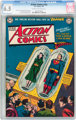 Action Comics #152 (DC, 1951) CGC FN+ 6.5 Cream to off-white pages