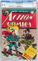 Action Comics #78 (DC, 1944) CGC VF 8.0 Off-white to white pages