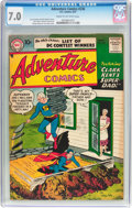Silver Age (1956-1969):Superhero, Adventure Comics #236 (DC, 1957) CGC FN/VF 7.0 Cream to off-whitepages....
