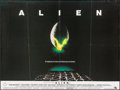 """Movie Posters:Science Fiction, Alien (20th Century Fox, 1979). Folded, Very Fine-. British Quad(30"""" X 40""""). Science Fiction.. ..."""