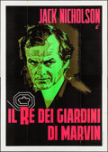 "Movie Posters:Crime, The King of Marvin Gardens (1976). Folded, Fine/Very Fine. Italian 4 - Fogli (55.25"" X 77.25""). Crime.. ..."