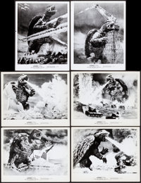 """Gammera the Invincible (World Entertainment, 1966). Very Fine-. Photos (6) (8"""" X 10""""). Science Fiction. ... (T..."""