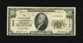 National Bank Notes:West Virginia, Fairmont, WV - $10 1929 Ty. 1 The NB Ch. # 9462. A presentable Finefrom a relatively available issuer....