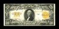 Large Size:Gold Certificates, Fr. 1187 $20 1922 Gold Certificate Very Fine. Dark orange ink is a highlight of this $20 Gold that has a partial paper clip ...