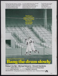 """Movie Posters:Sports, Bang the Drum Slowly (Paramount, 1973). Poster (30"""" X 40""""). Drama. Starring Robert De Niro, Michael Moriarty, Vincent Garden..."""