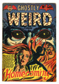 Golden Age (1938-1955):Horror, Ghostly Weird Stories #124 (Star, 1954) Condition: GD/VG....