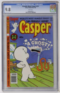 Modern Age (1980-Present):Humor, Friendly Ghost Casper #211 (Harvey, 1980) CGC NM/MT 9.8 Whitepages....