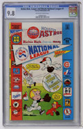 Bronze Age (1970-1979):Cartoon Character, Richie Rich, Casper and Wendy National League #1 (Harvey, 1976) CGCNM/MT 9.8 Off-white to white pages....