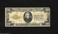 Small Size:Gold Certificates, Fr. 2402 $20 1928 Gold Certificate. Fine....
