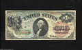 Fr. 18 $1 1869 Legal Tender Very Good-Fine. An old repair can be found in the upper margin on this solid example that ap...