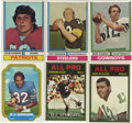 Football Cards:Sets, 1974 Topps Football Complete Set (528)Offered is 1974 Topps Football complete set of 528 cards in overall mid to high grade....