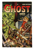 Golden Age (1938-1955):Horror, Ghost #9 (Fiction House, 1953) Condition: Apparent FN/VF....