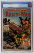 Golden Age (1938-1955):War, Our Army at War #4 (DC, 1952) CGC VG+ 4.5 Cream to off-whitepages....