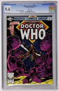 Modern Age (1980-Present):Science Fiction, Marvel Premiere #59 Doctor Who (Marvel, 1981) CGC NM+ 9.6 Whitepages....