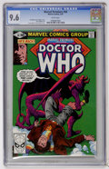 Modern Age (1980-Present):Science Fiction, Marvel Premiere #58 Doctor Who (Marvel, 1981) CGC NM+ 9.6 Whitepages....