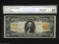 Large Size:Gold Certificates, Fr. 1183 $20 1906 Gold Certificate CGA Very Fine 25....
