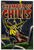 Golden Age (1938-1955):Horror, Chamber of Chills #17 (Harvey, 1953) Condition: VF-....