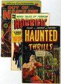 Golden Age (1938-1955):Horror, Miscellaneous Golden Age Horror Comics Group (Various Publishers,1952-54).... (Total: 3 Comic Books)