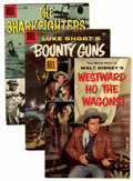 Silver Age (1956-1969):Western, Four Color Western/Adventure File Copy Group (Dell, 1956-58)Condition: Average FN.... (Total: 21 Comic Books)