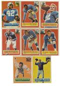 Football Cards:Sets, 1956 Topps Football Complete Set (120) Plus Checklist.Offered is asolid middle grade 1956 Topps football complete set. This...