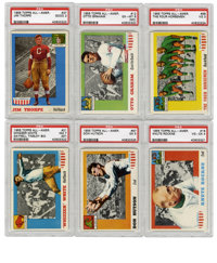 1955 Topps All-American Complete Set (100) Plus Variations (2). Offered is a 1955 Topps All-American complete set of 100...