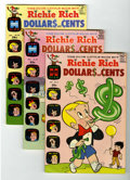 Silver Age (1956-1969):Humor, Richie Rich Dollars and Cents Group (Harvey, 1969-78) Condition: Average VF/NM.... (Total: 17 Comic Books)