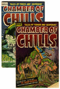 Golden Age (1938-1955):Horror, Chamber of Chills #12 and 26 Group (Harvey, 1952-54).... (Total: 2Comic Books)