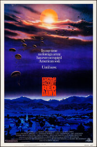 "Red Dawn (MGM, 1984). Rolled, Very Fine-. One Sheet (27"" X 41""). John Alvin Artwork. Action"