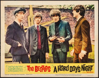 "A Hard Day's Night (United Artists, 1964). Fine/Very Fine. Lobby Card (11"" X 14""). Rock and Roll. From the Col..."