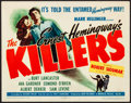 """Movie Posters:Film Noir, The Killers (Universal, 1946). Very Fine-. Title Lobby Card (11"""" X 14""""). Film Noir. From the Collection of Frank Buxton, o..."""