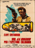 "Movie Posters:Action, Magnum Force (Warner Brothers, 1973). Folded, Very Good/Fine. Italian 4 - Fogli (55"" X 76.5"") Roberto Ferrini Artwork. Actio..."