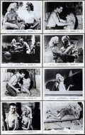 """Movie Posters:Bad Girl, Girl with an Itch (Howco, 1958). Very Fine-. Photos (8) (8"""" X 10""""). Bad Girl.. ... (Total: 8 Items)"""