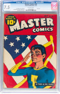 Golden Age (1938-1955):Superhero, Master Comics #40 (Fawcett Publications, 1943) CGC VF- 7.5Off-white pages....