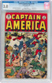 Captain America Comics #46 (Timely, 1945) CGC GD/VG 3.0 White pages