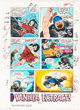 Jack Kirby and Alfredo Alcala Destroyer Duck #2 Annotated Color Guide (Eclipse Comics, 1983)