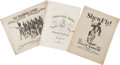 Books:Music & Sheet Music, 19th Century Song Sheets (6)....