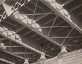 Photographs:Gelatin Silver, Theron Fowler (American, 20th Century). Steel Girders Under Riverside Bridge, NYC, 1935. Gelatin silver, 1998. 7-3/4 x 9...