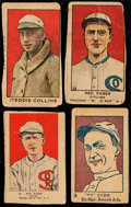 Baseball Cards:Lots, 1919-1926 Strip Card Collection (4) - Red Faber, Eddie Collins& Ty Cobb. ...