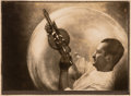 Photographs:Gelatin Silver, Max Thorek (American, 1880-1960). Harnessing the Unseen, circa 1930s. Bromide print. 9-1/4 x 13-1/2 inches (23.5 x 34.3 ...