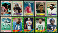 Football Cards:Sets, 1982, 1983 and 1986 Topps Football Near Set Trio (3). ...
