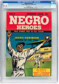 Golden Age (1938-1955):Non-Fiction, Negro Heroes #2 (Parents' Magazine Institute, 1948) CGC VF/NM 9.0 Off-white pages....