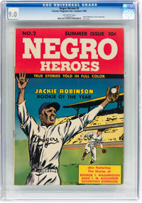 Negro Heroes #2 (Parents' Magazine Institute, 1948) CGC VF/NM 9.0 Off-white pages