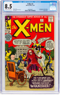 X-Men #2 (Marvel, 1963) CGC VF+ 8.5 Off-white to white pages