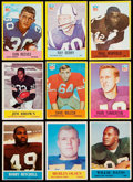 Football Cards:Sets, 1964 And 1967 Philadelphia Football Partial Sets (2). ...