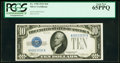Small Size:Silver Certificates, Fr. 1700 $10 1933 Silver Certificate. PCGS Gem New 65PPQ.. ...