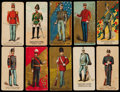 Non-Sport Cards:Lots, 1880'S Kinney Tobacco Military Series Collection (29). ...