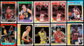 Basketball Cards:Lots, 1986-90 Fleer/Fleer Stickers Basketball Collection (211)....