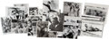 Photography:Official Photos, Press Photographs of James Meredith (15) and Medgar Evers (4)....