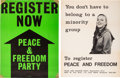 Miscellaneous:Broadside, Two 1968 Registration Posters. ... (Total: 2 Items)